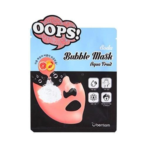 Маска увлажняющая Berrisom Soda Bubble Mask Aqua