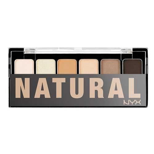 Палитра теней NYX THE NATURAL SHADOW PALETTE