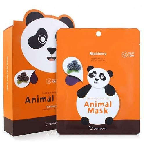 Тканевая маска Berrisom Animal Mask Panda