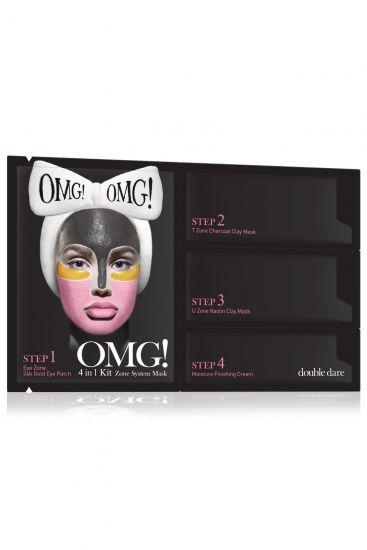 Комплекс масок четырехкомпонентный Double Dare OMG! 4IN1 KIT Zone System Mask