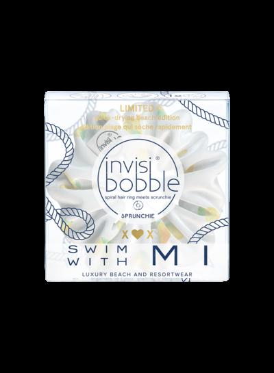 Резинка-браслет для волос Invisibobble SPRUNCHIE Swim With Mi - Simply The Zest