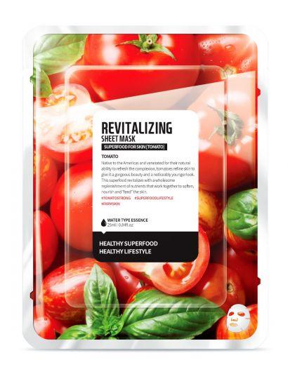 """Тканевая маска """"Томат - Ревитализация"""" Superfood for Skin Tomato Revitalizing Sheet Mask"""