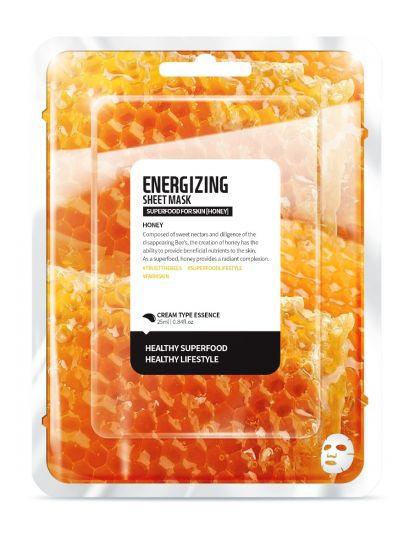 """Тканевая маска """"Мед - Энергия"""" Superfood for Skin Honey Energizing Sheet Mask"""