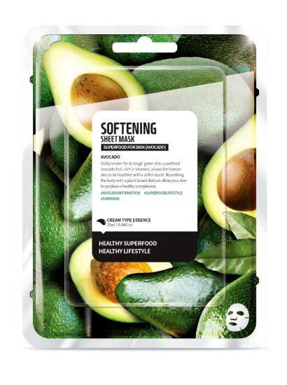 "Тканевая маска ""Авокадо - Смягчение"" Superfood for Skin Softening Sheet Mask"