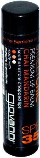 "Бальзам для губ ""Мандарин"" Giovanni Premium Lip Balm Chai Mandarin SPF 35"
