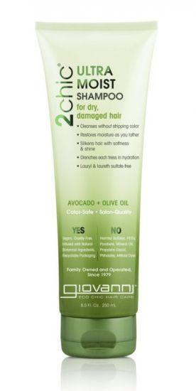 Увлажняющий шампунь для волос Giovanni 2chic Ultra-Moist Shampoo Avocado & Olive Oil