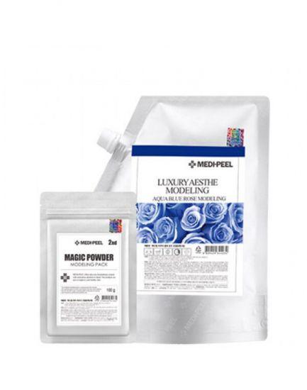 Увлажняющая альгинатная маска для лица с экстрактом розы Medi-Peel Medical Aqua Blue Rose Moisture Modeling pack
