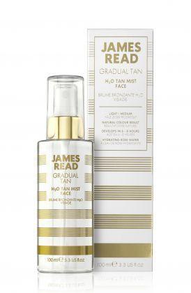 Спрей для лица с эффектом загара James Read H2O Tan Mist Face