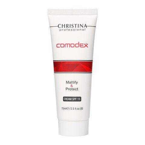 """Крем для лица """"Матирование и защита"""" Christina Comodex-Mattify&Protect Cream SPF15"""