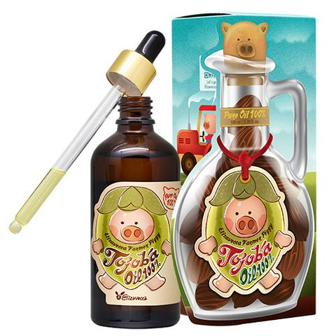 Масло жожоба 100% Elizavecca Farmer Piggy Jojoba Oil 100%