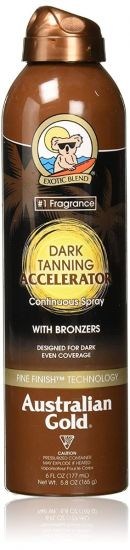 Спрей для усиления загара Australian Gold Dark Tanning Accelerator Continuous Spray With Bronzers