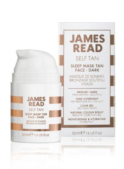 Ночная маска для лица с эффектом загара James Read Sleep Mask Tan Go Darker Face