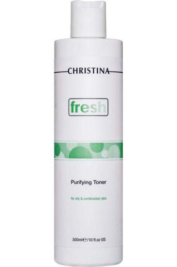 Очищающий тоник для жирной кожи с лемонграссом Christina Fresh Purifying Toner for oily skin with Lemongrass