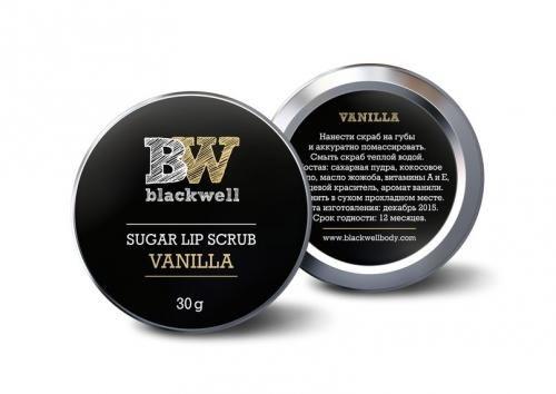 Сахарный скраб для губ Blackwell Ваниль