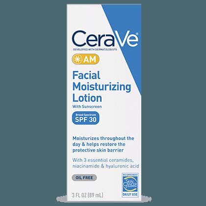 Дневной увлажняющий лосьон для лица CeraVe AM Facial Moisturizing Lotion SPF30
