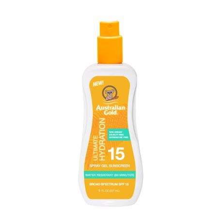 Спрей-гель Australian Gold Spray Gel Sunscreen Clear SPF 15