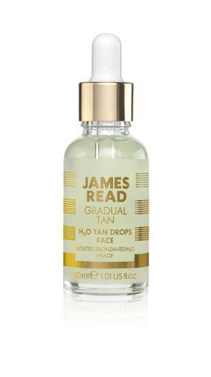 Капли-концентрат для лица с эффектом загара James Read H20 Tan Drops Face