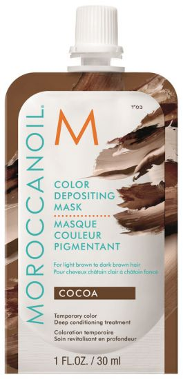 Маска для Волос Moroccanoil Color Depositing Mask Cocoa