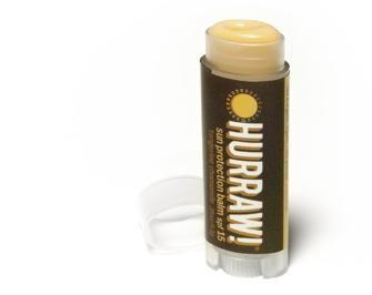 Бальзам для губ Hurraw! Sun Protection Lip Balm SPF15