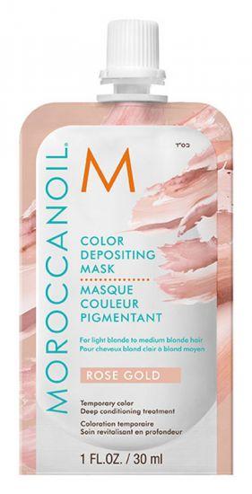 Маска для Волос Moroccanoil Color Depositing Mask Rose Gold
