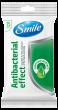 Антибактериальные салфетки с соком подорожника Smile Antibacterial 15шт