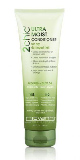 Увлажняющий кондиционер для волос Giovanni 2chic Ultra-Moist Conditioner Avocado & Olive Oil