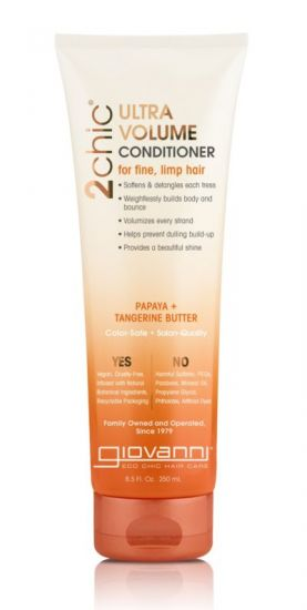Кондиционер для объема с мандарином и маслом папайя Giovanni 2 Chic Ultra-Volume TanGerine Papaya Butter
