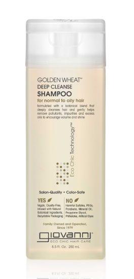 "Шампунь для глубокого очищения ""Золотая пшеница"" Giovanni Eco Chic Hair Care Golden Wheat Deep Cleanse Shampoo"