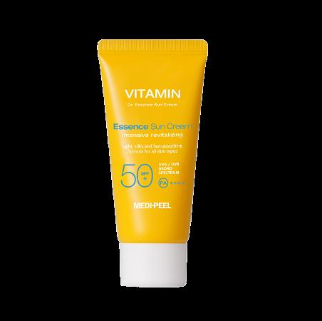 Витаминный солнцезащитный крем MEDI-PEEL Vitamin Dr. Essence Sun Cream SPF50+/PA+++
