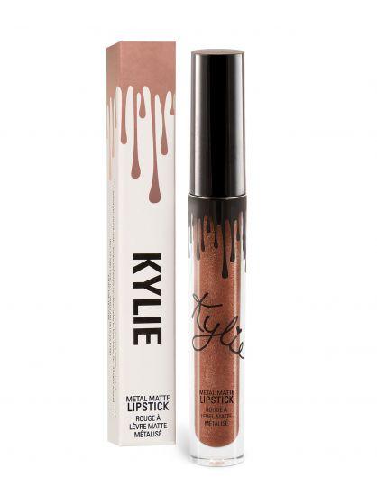 Матовая металлическая помада Kylie Metal Matte Lipstick