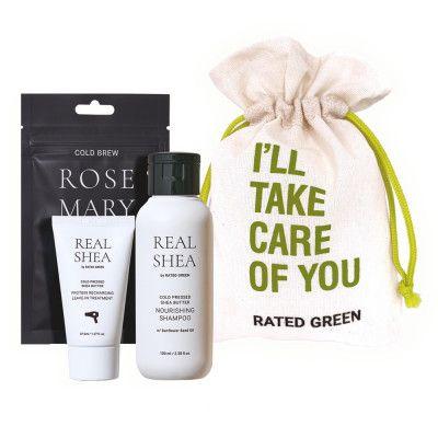 Мини-набор Rated Green Real Shea Rose Mary
