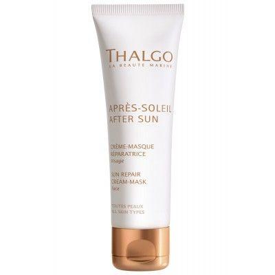 Восстанавливающая крем-маска для лица и области декольте Thalgo Sun Repair Cream-Mask
