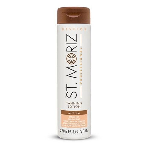 Лосьон-автозагар St.Moriz Professional Instant Self Tanning Lotion Medium
