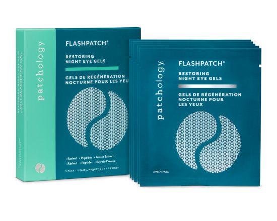 Ночные восстанавливающие патчи 5 пар Patchology FlashPatch Restoring Night Eye Gels