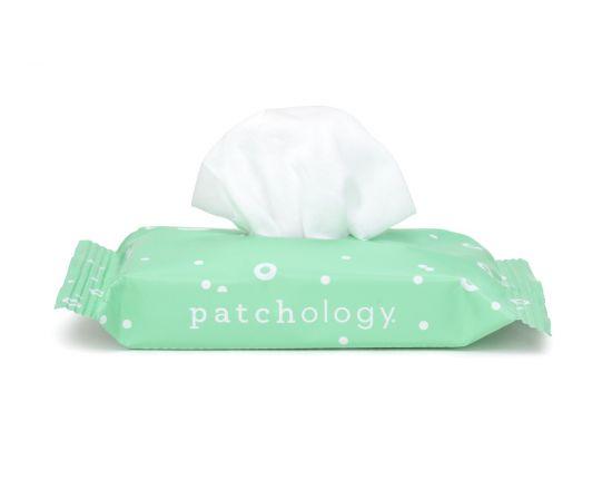 Очищающие салфетки для демакияжа 1 упаковка Patchology Clean AF Facial Cleansing Wipes