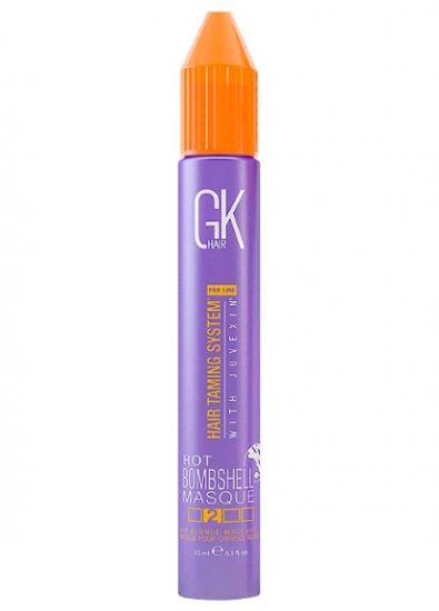 Маска уход для волос с корректирующим пигментом GKhair Hot Bombshell Masque