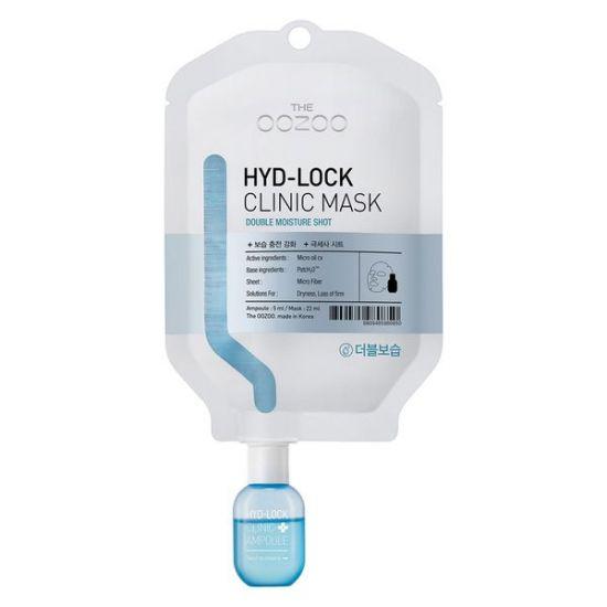 Маска для двойного увлажнения очень сухой кожи лица THE OOZOO Hyd-Lock Clinic Mask Double Moisture Shot