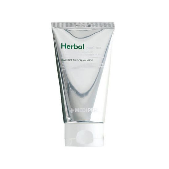 Успокаивающая пилинг-маска c эффектом детокса Medi Peel Herbal Peel Tox Wash Off Type Cream Mask