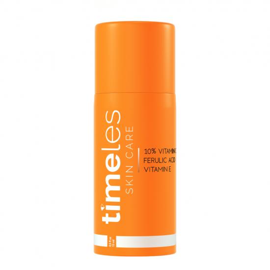 Сыворотка с витаминами С, Е и феруловой кислотой Timeless Skin Care 10% Vitamin C + E Ferulic Acid Serum