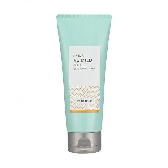 Пенка для умывания Holika Holika Skin and AC Mild Clear Cleansing Foam