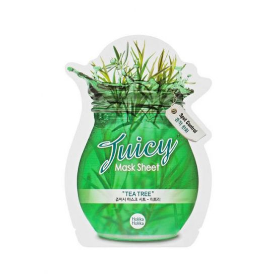 Тканевая маска с натуральными экстрактами Holika Holika Juicy Mask Sheet Tea Tree