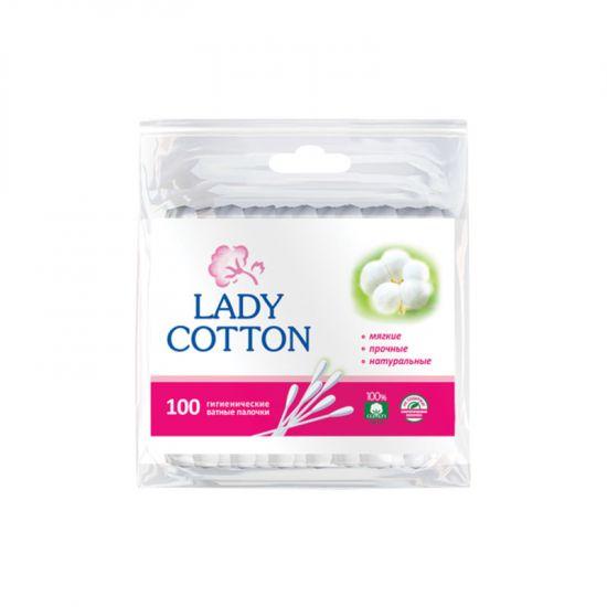 Ватные палочки Lady Cotton 100 шт