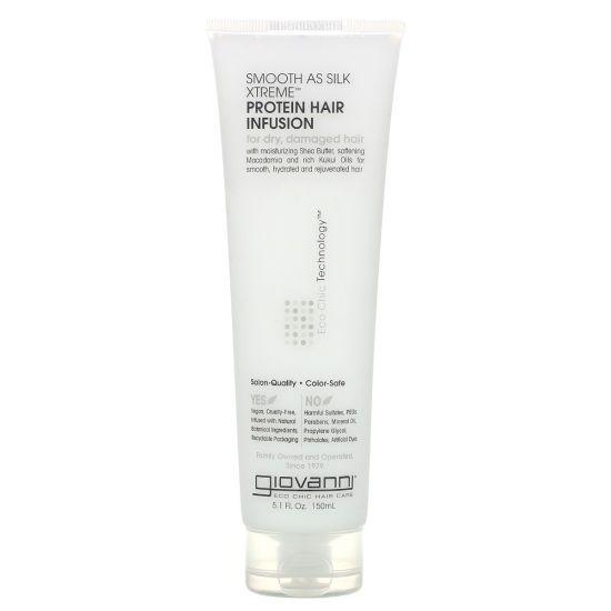 Протеиновая маска для волос Giovanni Eco Chic Hair Care Protein Hair Infusion