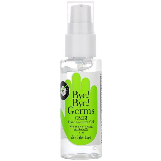 Антибактериальный гель для рук Double Dare Bye! Bye! Germs OMG! Hand Sanitizer Gel - Green Label