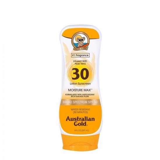 Увлажняющий солнцезащитный лосьон Australian Gold Moisture Max SPF 30