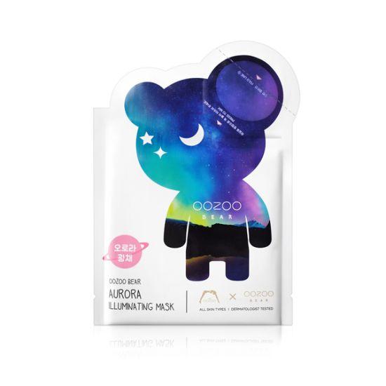 """Маска для сияния кожи """"Северное сияние"""" THE OOZOO Bear Aurora Illuminating Mask"""