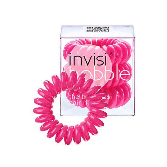 Резинка-браслет для волос 3 шт. Invisibobble Candy Pink