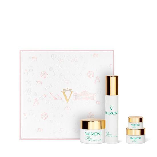 Косметический набор (розовый) Valmont Prime Renewing Pack Retail Set