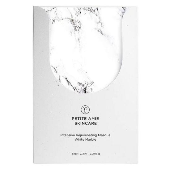 Мраморная маска Антивозрастная Petite Amie Intensive Rejuvenating Masque White Marble