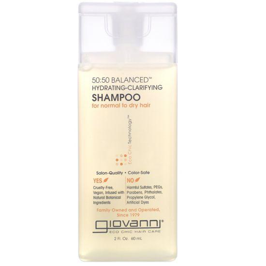 "Шампунь ""Баланс"" Giovanni Eco Chic Hair Care 50:50 Balanced Hydrating-Clarifying Shampoo"
